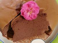 可可風棉花蛋糕[水浴法]