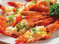 蒜香奶油蒸蝦