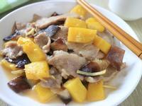 薑絲鳳梨木耳肉片