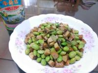 毛豆炒豆乾