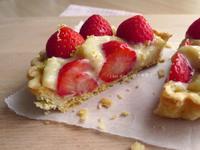 蜜草莓香草卡式達塔