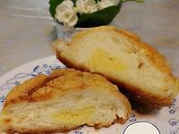 椰香奶酥菠蘿麵包~中種法