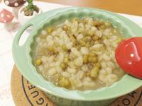 綠豆麥片甜湯!! 吃一口透心涼~~