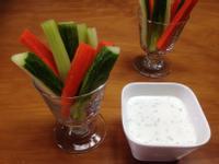 三色蔬菜棒沙拉