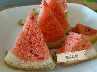 鬆軟好吃西瓜吐司(用吳寶春牛奶吐司配方)