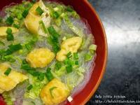 素食系列 - 油豆腐粉絲湯