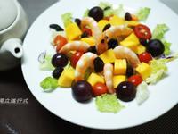 芒果鮮蝦沙拉~小七夏日輕食尚