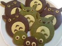 龍貓造型壓模餅乾