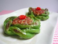 翡翠圈~豇豆鑲肉