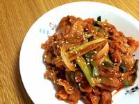 韓國辣醬炒豬肉 고추장불고기