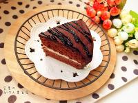 簡易巧克力裝飾蛋糕