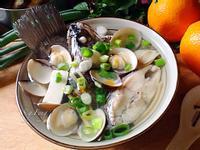 薑絲鱸魚蛤蠣湯