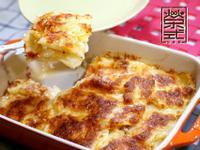 奶油起司培根焗馬鈴薯