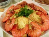 豆腐鮮蝦粉絲煲