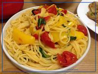 麥伊煮・蒜香彩椒番茄快煮義大利麵