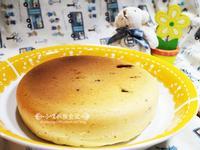 電子鍋料理~巧克力葡萄鬆餅蛋糕