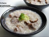 電鍋料理-芋頭排骨粥