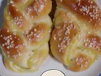 地瓜辮子麵包~甜麵包