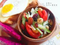 【夏日輕食早餐】堅果鮮蔬沙拉