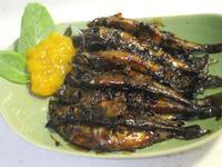 柳葉魚甘露煮