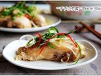 蔥油香雞腿(蔥油雞)