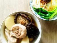 竹筍香菇雞湯(電鍋)