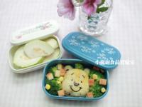 寶寶食譜【咖哩炊飯~維尼熊便當】