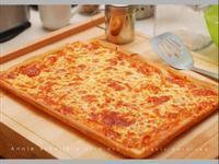 美式乳酪批薩*五分鐘手揉麵團