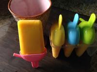 自製濃醇綿密的芒果鳳梨冰淇淋❤!!!