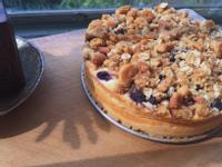 藍莓乳酪杏仁蛋糕