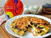 櫻花蝦三色蛋煎[烹大師]