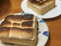 烤棉花糖香蕉吐司