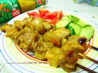 南洋風味咖哩雞肉串【可果美咖哩醬】