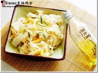 茶油涼拌蘿蔔 (自然好油×茶籽堂)