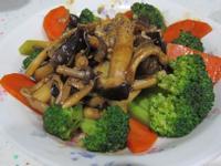 蠔油樹菇花椰菜