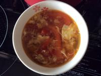 蕃茄肉燥蛋花湯