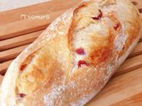 蔓越莓牛奶鄉村麵包