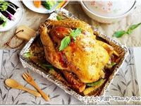 蜂蜜蒜香烤全雞