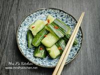 【簡易開胃菜】涼拌小黃瓜