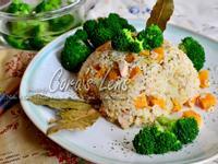 鮪魚地瓜雞炊飯【快鍋就用樂鍋史蒂娜】