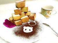 ★焦糖水果金磚★輕食