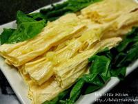 素食系列 - 薑蓉蒸腐皮