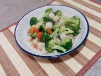 干貝清炒綠花椰菜