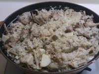 竹筍鮮菇雞肉飯