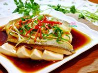 虱目魚肚豆腐蒸