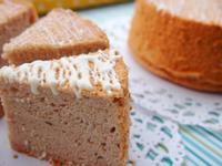草莓戚風蛋糕-燙麵法