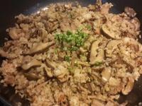 鮮香菇炒油飯