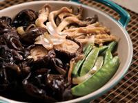 潤肌鮮菌炒百合
