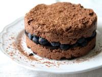 零烘培∣藍莓巧克力生起司Oreo蛋糕
