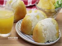 鳳梨果汁+鳳梨夾心麵包-慢磨蔬果機